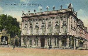 france, NANCY, Le Theatre Municipal (1924) Theater