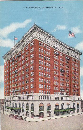 The Tutwiler Hotel Birmingham Alabama / HipPostcard