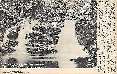 Phillipsport New York~Sullivan County~Upper Crystal Falls