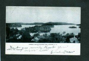 NH View of Sunapee Lake and village New Hampshire Postcard UDB 1906