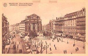 Place de Brouckere Bruxelles Belgium Unused