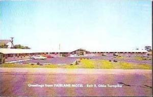 OH Perrysburg Fairlane Motel