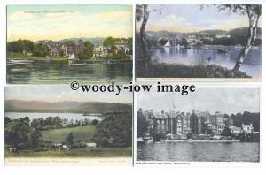 tb0114 - Windermere , Cumbria - 8 postcards