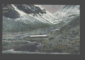 093203 Chile Cordillera de Los Andes Juncal Puente Vintage PC
