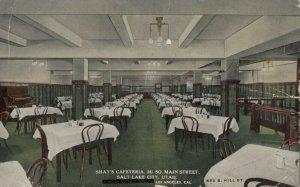 SALT LAKE CITY, Utah, 00-10s ; Interior of Shay's Cafeteria