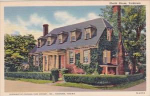 Virginia Yorktown Sheild House