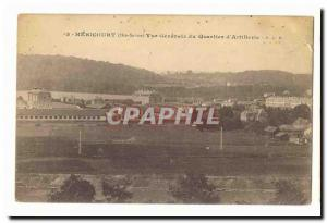 Hericourt Old Postcard General view of the district & # 39artillerie