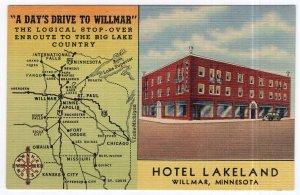 Willmar, Minnesota, Hotel Lakeland