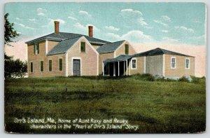Orr's Island Maine~Aunt Roxy Home~Harriet Beecher Stowe~Pearl Orr's Island~1910