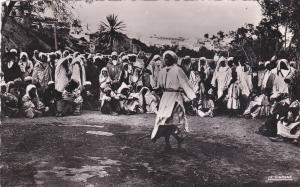 RP: CASABLANCA, Morocco, Africa, 1930s;  Danseur au Fusil