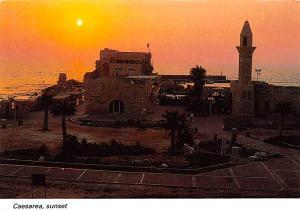 Caesarea Israel Sunset Caesarea Sunset
