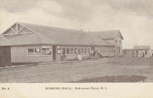 SAKONNET POINT , R.I. , 1900-10s ; Dinning Hall