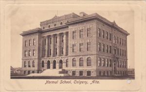 Normal School , CALGARY , Alberta , Canada , PU-1910
