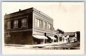 Dunlap IA~Jessup & Barrett Furn~Beck's~Farmers Co-Op Milk Jugs~Bakery~c1910 RPPC