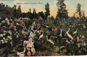 CORINTH , Mississippi , 1908 ; Moore's Park