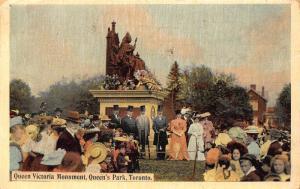 Canada Queen Victoria Monument Queen's Park Toronto Statue 1907 Postcard