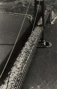 CA - San Francisco. Golden Gate Bridge. (9) Opening Day May 27, 1937