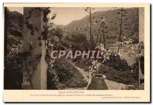 Old Postcard Ile De Port Cros (Var) Port Cres in the sea and the charm of a s...