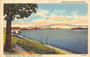 19307   Blue-Water International Bridge, between MI and  Ontario