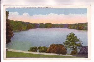 Delaware Park, The Lake, General View, Buffalo, New York,