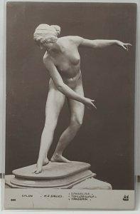 Salon Paris Sculpture Vintage Postcard