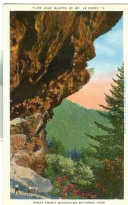 Alum Cave Bluffs of Mt. Le Conte, Great Smoky Mountains N...