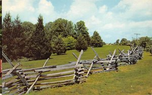 Rail Fence in Historic KY Hodgenville KY
