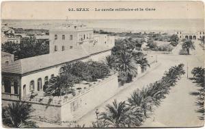Tunisia Sfax Le civile militaire et la Gave 01.26