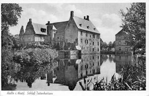 Halle i. Westf Schloss Tatenhausen Castle Lake Chateau