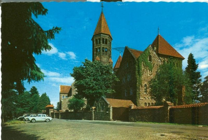 Luxembourg, Clervaux, Abbaye St. Maurice 1960s used Postcard
