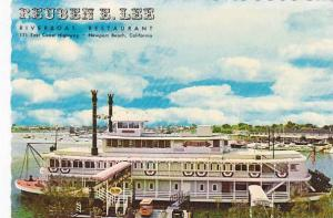 Reuben E Lee Riverboat Restaurant Newport Beach California