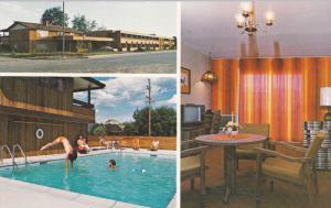 Big White Motor Lodge, Swimming Pool, Inside one of the Rooms, KELOWNA, Briti...