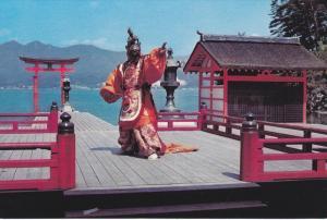 HIROSHIMA, Japan, 1950-1970's; Itsukushima Shrine