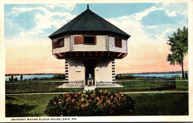 Pennsylvania Erie Anthony Wayne Block House