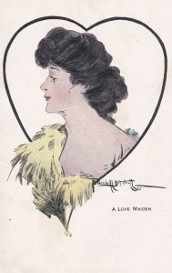 Portrait, A Love Maiden by Mitchell, 1900-10s