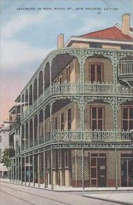 Louisiana New Orleans Lacework In Iron Royal St