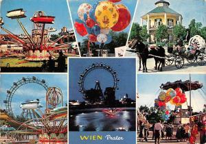 Wien Prater Big Wheel Horse Carriage Ride Promenade