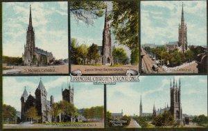 TORONTO , Ontario , Canada ; 00-10s ;  Churches