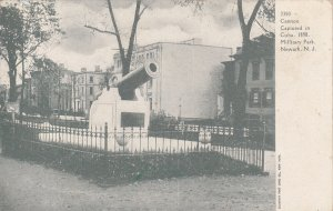 NEWARK, New Jersey; Cannon Captured in Cuba, 1898, Military Park, 00-10s