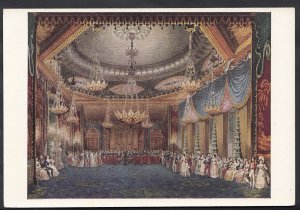 Sussex Postcard - The Royal Pavilion, Brighton, The Music Room LC3480