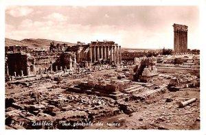 Vue Generale Des Ruines Baalbeck, Syria , Syrie Turquie, Postale, Universelle...