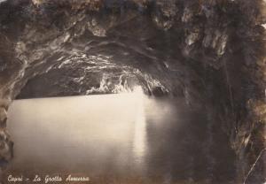 RP; CAPRI, La Grotta Azzurra, Napoli, Campania, Italy, 1950s