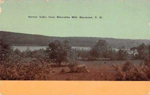 Raymond New Hampshire Onway Lake from Hiawatha Hill Vintage Postcard JD933695