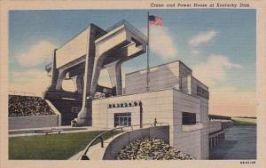 Crane And Power House At Kentucky Dam Paducah Kentucky
