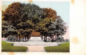 Gettysburg Civil War Battlefield~High Water Mark~Book~Cannon~1905 Detroit Pub Co