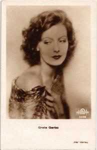 CPA AK FILM STAR Greta Garbo (93526)
