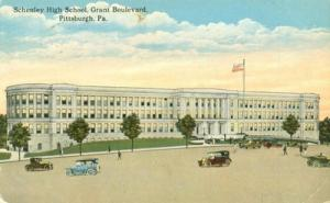 Schenley High School, Grant Boulevard, Pittsburgh, Pa 191...
