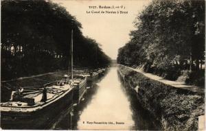 CPA REDON (I.-et-V.) - La Canal de Nantes a Brest (357081)