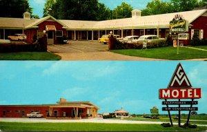 Illinois Jacksonville Yording's Motel 1962