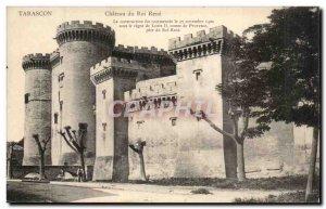 Old Postcard Tarascon Chateau of King Rene